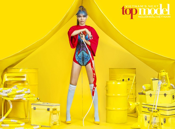 """Siêu mẫu Thanh Hằng tiếp tục """"cầm trịch"""" Vietnam's Next Top Model mùa thứ 7 ảnh 2"""