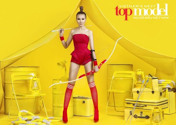 """Siêu mẫu Thanh Hằng tiếp tục """"cầm trịch"""" Vietnam's Next Top Model mùa thứ 7 ảnh 4"""