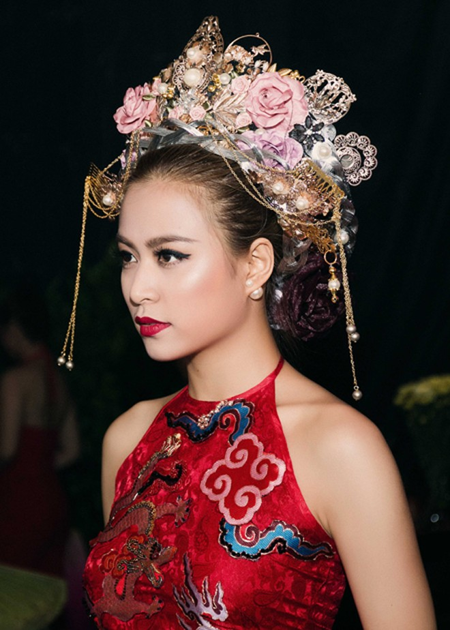 """Hoàng Thuỳ Linh trình diễn """"Bánh trôi nước"""", Vĩnh Thụy giật giải """"mặc đẹp trong đêm"""" ảnh 4"""