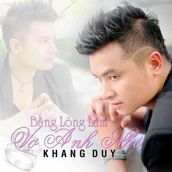 """Được biết thời gian này Khang Duy đang dành thời gian chuẩn bị cho việc phát hành mini album thứ năm của mình với tên gọi """"Bằng lòng làm vợ anh nhé"""" gồm 3 ca khúc viết về tình yêu đẹp với nhiều cảm xúc."""
