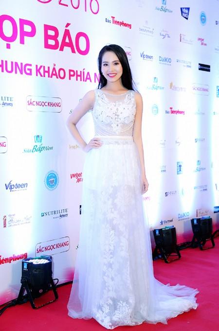 """Người đẹp Áo dài Dương Kim Ánh sẽ """"chinh phục"""" Hoa hậu Việt Nam 2016 ảnh 1"""