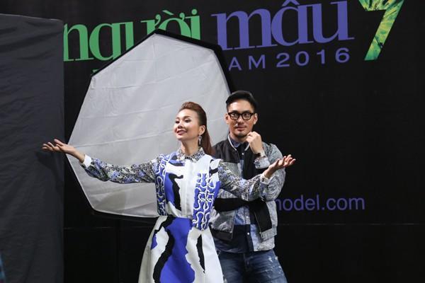 """Thí sinh Vietnam's Next Top Model mùa thứ 7 """"nghẹt thở"""" trong chiếc lồng dây thừng ảnh 7"""