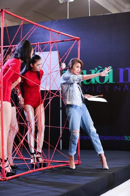 Hot girl Fung La chinh phục hoàn toàn giám khảo khó tính Hà Đỗ ảnh 8