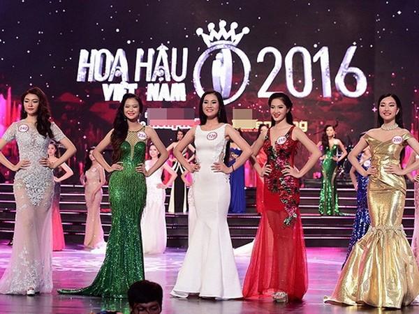 Hoa hậu Việt Nam 2016: Top 18 thí sinh đầu tiên bước vào đêm chung kết
