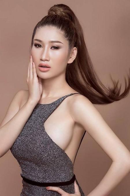 """Người mẫu Quỳnh Thi """"hút hồn"""" với vòng 1 căng tràn gợi cảm ảnh 5"""