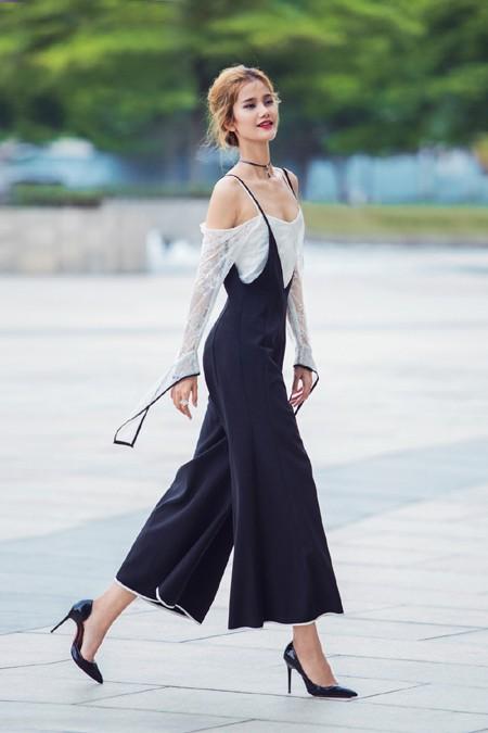 Quán quân next top Hương Ly khoe vẻ đẹp thanh khiết