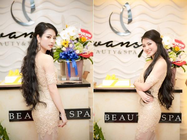 Nhan sắc ngày càng mặn mà, quyến rũ của Hoa hậu các dân tộc Việt Nam 2013 Nguyễn Ngọc Anh.