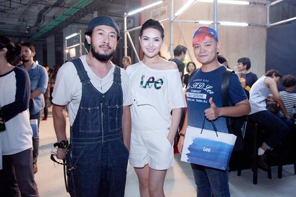 Tại sự kiện, Mai Hà Ngân còn có dịp gặp gỡ Tổng biên tập của Tạp chí thời trang lớn nhất Thái Lan Chezze Locker mà sắp tới cô sẽ kết hợp làm việc.