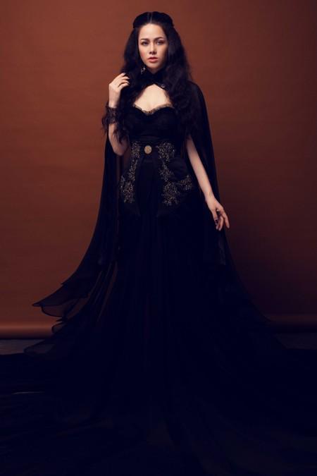 Giảm cân thành công, Nhật Kim Anh đẹp ma mị trong bộ ảnh mới