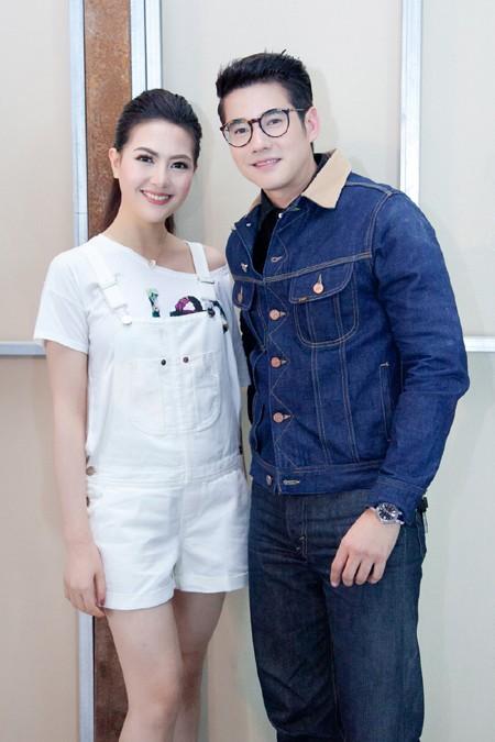 Siêu sao Thái Lan Mario Maurer cũng có mặt tại sự kiện vì anh đang là gương mặt thương hiệu trong suốt 3 năm liền.