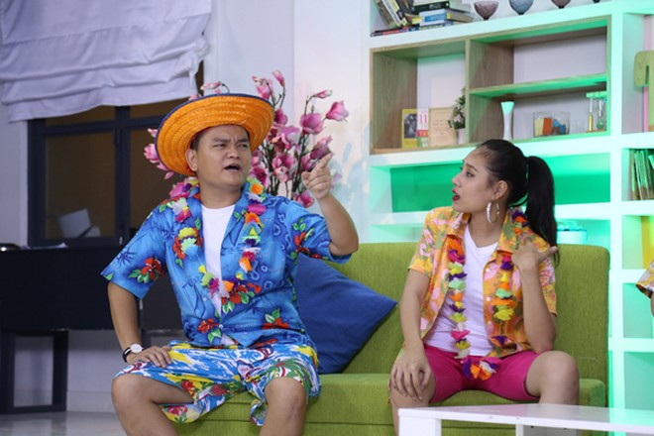 Hợp sức cùng Khả Như - Thanh Duy, Trịnh Tú Trung chọc cười khán giả ảnh 8