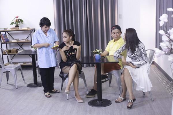 Hợp sức cùng Khả Như - Thanh Duy, Trịnh Tú Trung chọc cười khán giả ảnh 6