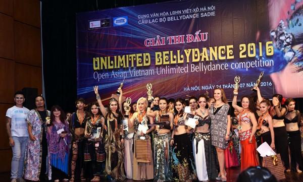 Việt Nam Unlimited Bellydance Competition 2016: Nơi cảm xúc thăng hoa