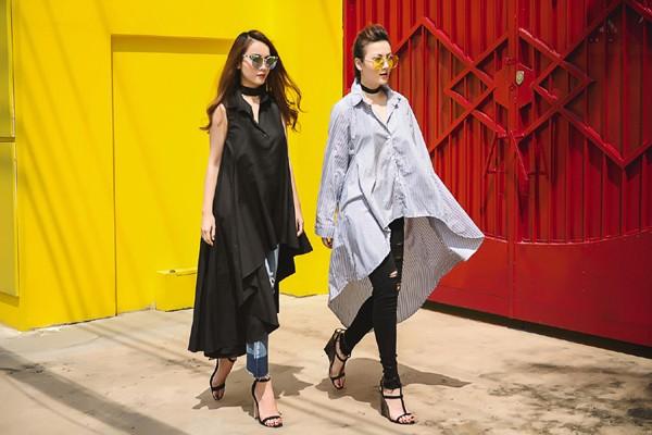 Chị em Yến Trang - Yến Nhi diện thời trang cá tính dạo phố ảnh 7
