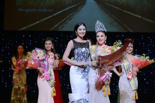 Lê Thanh Thúy đăng quang Hoa hậu Doanh nhân người Việt châu Á 2016 ảnh 5
