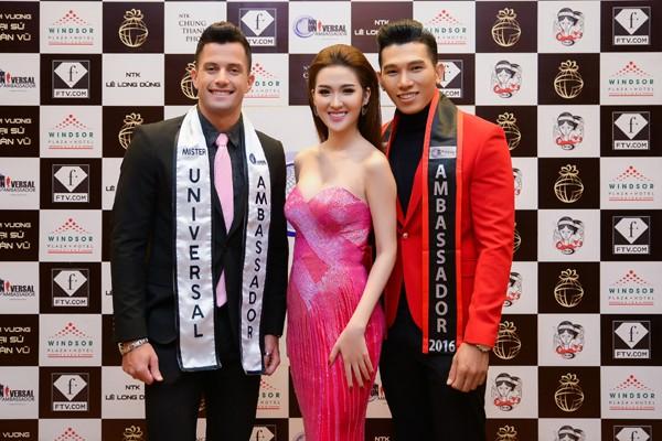 Siêu mẫu Ngọc Tình đại diện Việt Nam tranh giải Nam vương Đại sứ Hoàn vũ ảnh 11