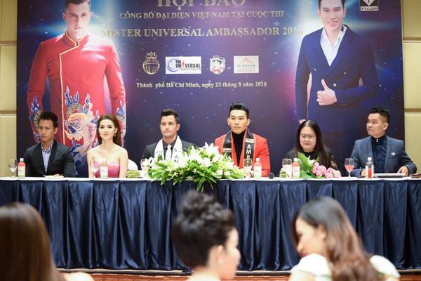 Siêu mẫu Ngọc Tình đại diện Việt Nam tranh giải Nam vương Đại sứ Hoàn vũ ảnh 1