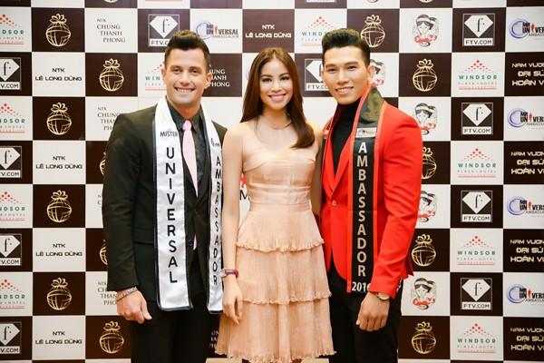 Siêu mẫu Ngọc Tình đại diện Việt Nam tranh giải Nam vương Đại sứ Hoàn vũ ảnh 8