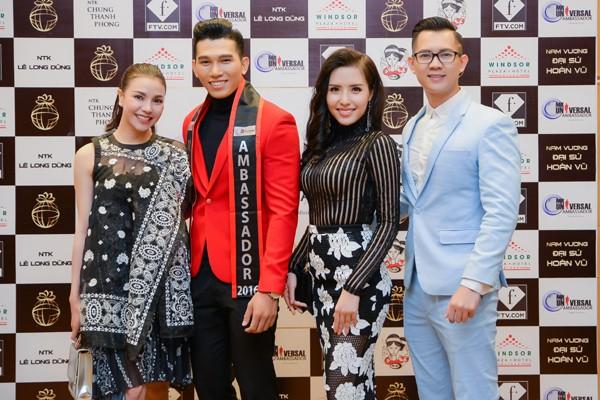 Siêu mẫu Ngọc Tình đại diện Việt Nam tranh giải Nam vương Đại sứ Hoàn vũ ảnh 9