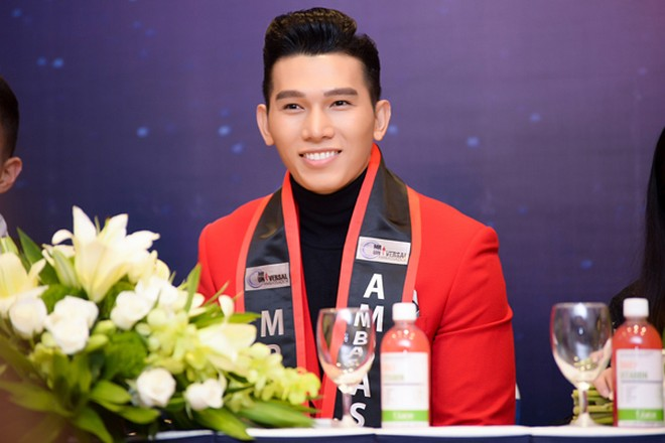 Siêu mẫu Ngọc Tình đại diện Việt Nam tranh giải Nam vương Đại sứ Hoàn vũ ảnh 5