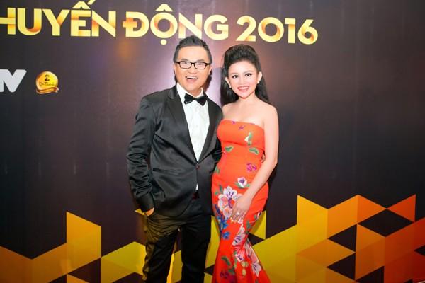 Janny Thủy Trần rạng ngời trên thảm đỏ VTV Awards ảnh 6