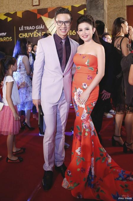 Janny Thủy Trần rạng ngời trên thảm đỏ VTV Awards ảnh 5