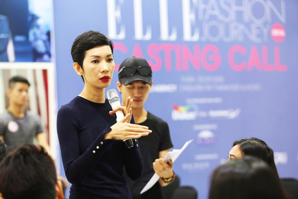 """Hơn 100 """"chân dài"""" háo hức casting show diễn """"Elle Fashion Journey"""" ảnh 5"""
