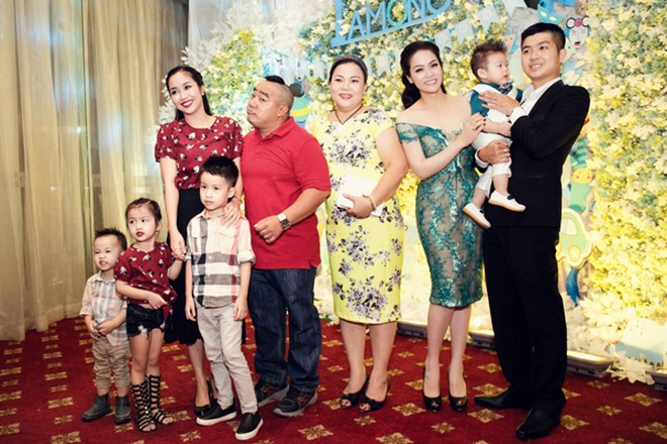 """""""Sao Việt"""" tấp nập chúc mừng sinh nhật bé Putin ảnh 10"""