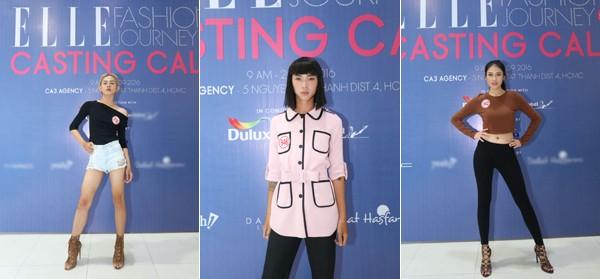 """Hơn 100 """"chân dài"""" háo hức casting show diễn """"Elle Fashion Journey"""" ảnh 6"""