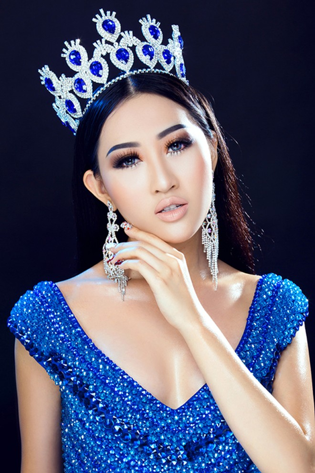 Hoa hậu Huỳnh Thuý Anh tái xuất sau thời gian du học ảnh 2