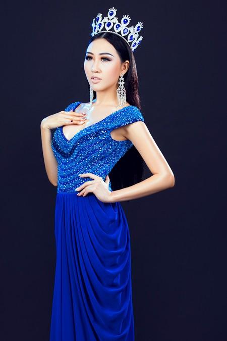 Hoa hậu Huỳnh Thuý Anh tái xuất sau thời gian du học ảnh 6