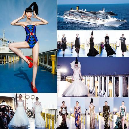 Siêu mẫu Jessica Minh Anh và những sàn diễn thời trang không tưởng ảnh 9