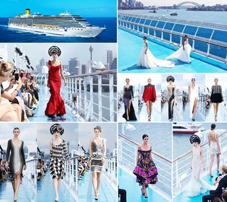 Siêu mẫu Jessica Minh Anh và những sàn diễn thời trang không tưởng ảnh 10