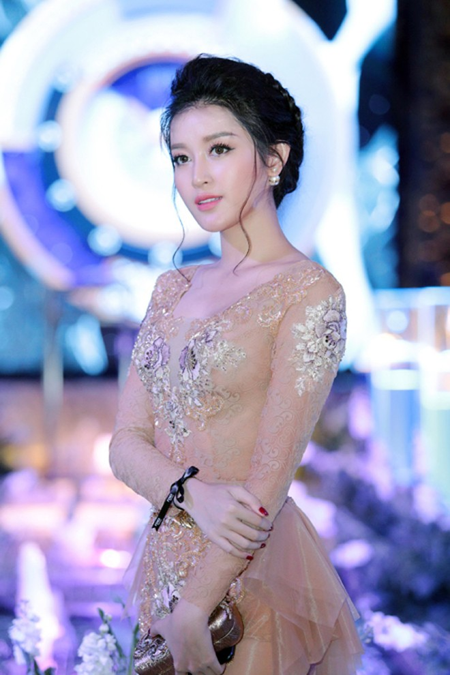 Á hậu Huyền My quyến rũ với thời trang xuyên thấu ảnh 5