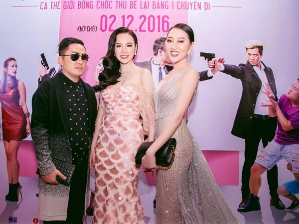 """Hoa hậu cộng đồng người Việt tại Mỹ cũng có dịp """"đọ sắc"""" với Angela Phương Trinh."""