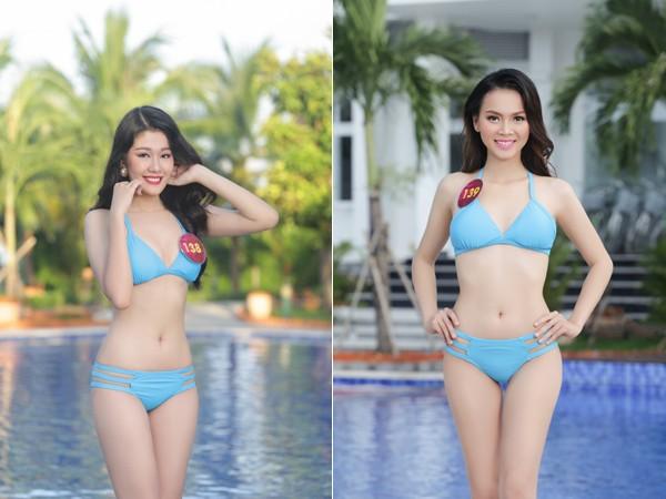 """Thí sinh """"Người đẹp xứ Dừa"""" nóng bỏng với bikini"""