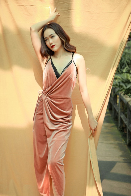 Ca sĩ Minh Trang gợi ý trang phục cho mùa đông nhiệt đới