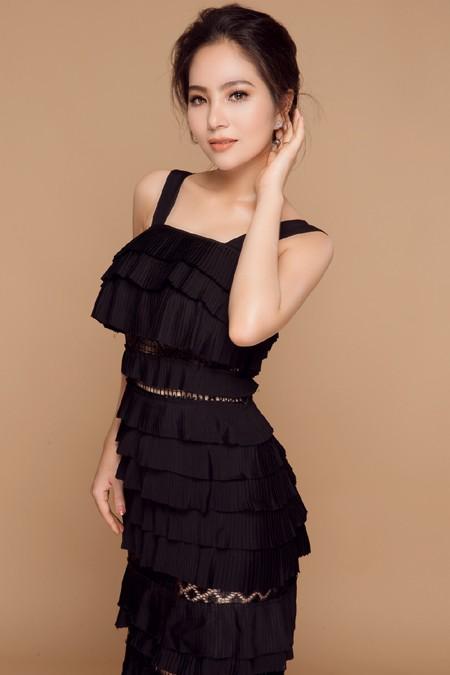 Hoa hậu Dương Kim Ánh lần đầu trải lòng về thị phi của showbiz ảnh 1