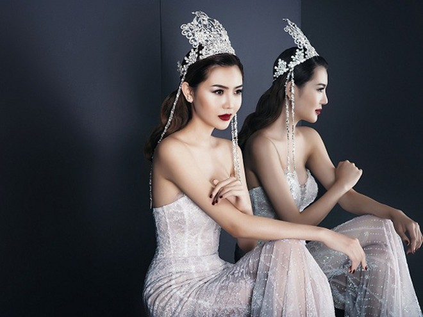 """Nữ hoàng sắc đẹp toàn cầu Ngọc Duyên khoe vóc dáng """"đồng hồ cát"""" gợi cảm ảnh 7"""