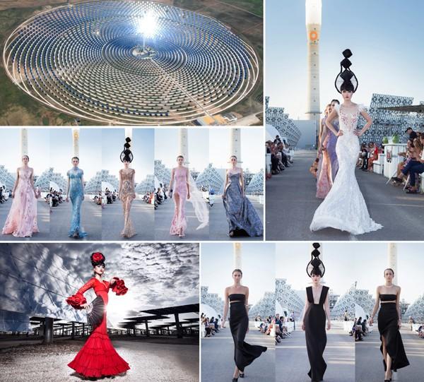 """Siêu mẫu Việt Nam """"khuấy đảo"""" sàn diễn Haute Couture năm 2017 ảnh 7"""