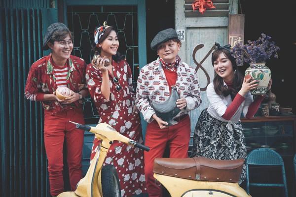 Trịnh Tú Trung, My Trần tung bộ ảnh đón xuân cực ngộ nghĩnh ảnh 1
