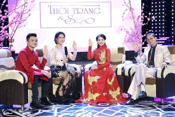 Hoa hậu Lê Thanh Thúy làm vedette trong show thời trang đầu năm mới ảnh 5