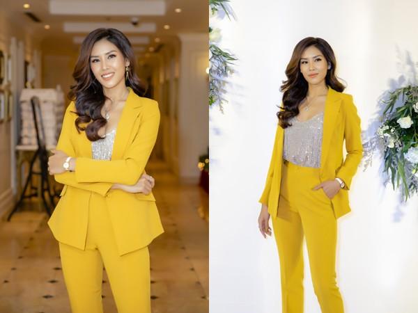 Á hậu Nguyễn Thị Loan trở lại với nhiều vai trò mới