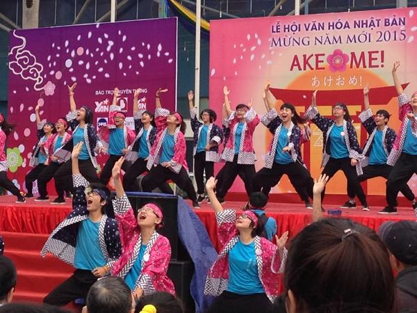 Nhiều loại hình văn hóa Nhật Bản sẽ được quảng bá mạnh mẽ qua những lễ hội như Ake Ome! - Ảnh: Trung Hiếu