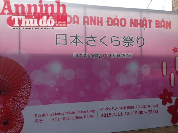 Thú vị với lễ hội hoa anh đào Nhật Bản 2015