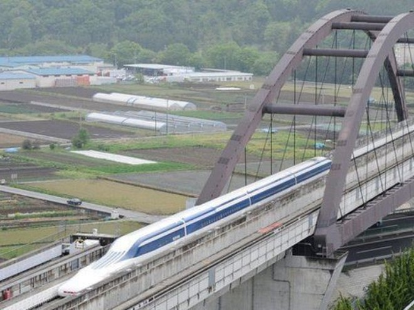 Vào năm 2003, loại tàu đệm từ trường cao tốc của Nhật Bản từng lần đầu lập kỷ lục thế giới về tốc độ ở mức 581 km/h.