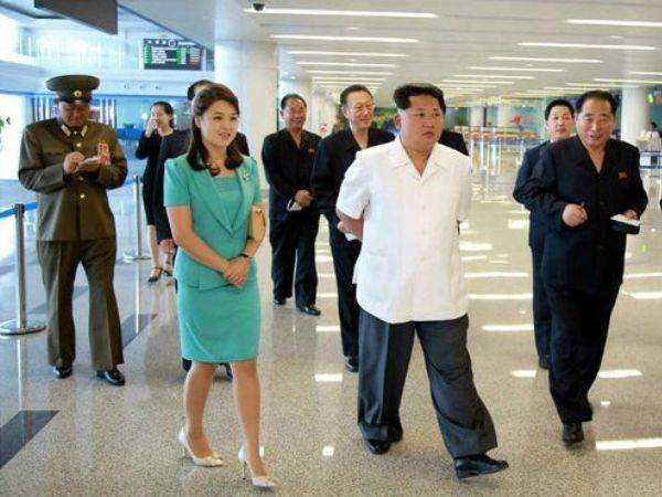 """Chủ tịch Triều Tiên Kim Jong-Un và vợ đi kiểm tra công trình """"xa hoa"""" mới"""