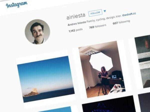 Chỉ vì trùng tên với siêu sao bóng đá mà tài khoản Instagram của anh Iniesta bị... khóa