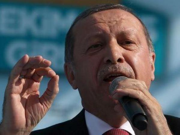Tổng thống Thổ Nhĩ Kỳ Erdogan tiếp tục khẳng định lập trường cứng rắn về vấn đề lãnh thổ