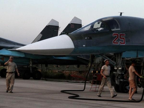 Lực lượng không quân Nga chuẩn bị cho chuyến không kích tại Syria